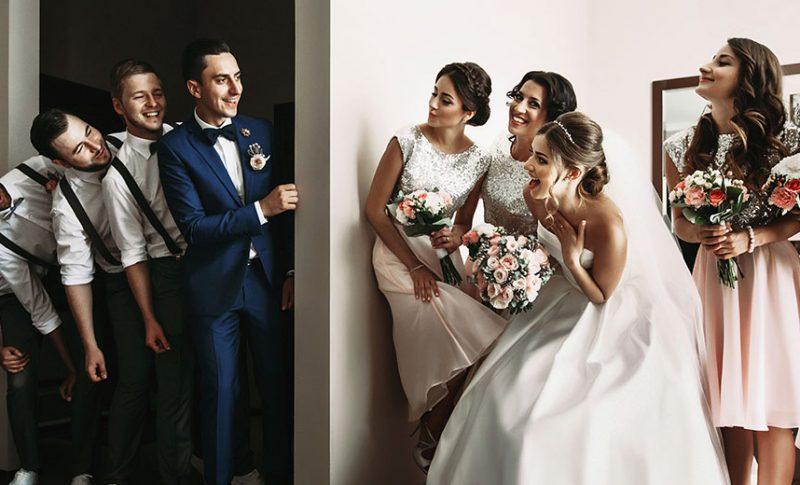 Choosing bridesmaids and groomsmen