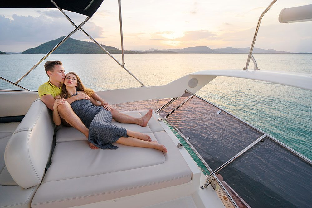 luxury liner honeymoon cruise