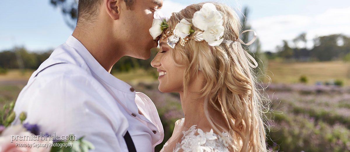 e7a82c7684 Luxe Boho Meets Lavender Wedding Style - Premier Bride Magazine
