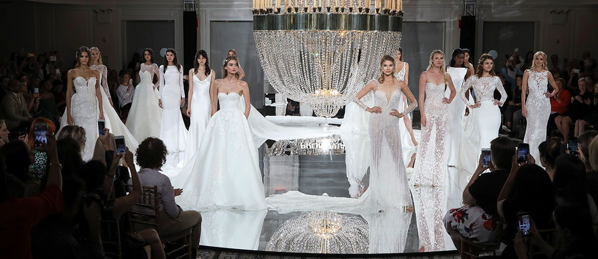 Bridal Gown Trends From Ny Fashion Week