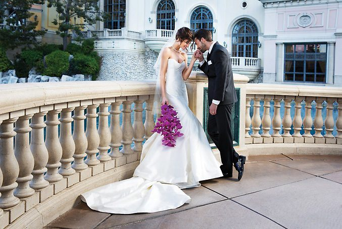 Las Vegas Outdoor Wedding