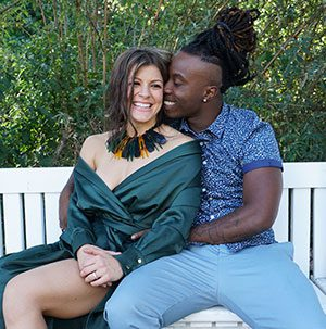 Janelle Ginestra and Will 'Willdabeast' Adams