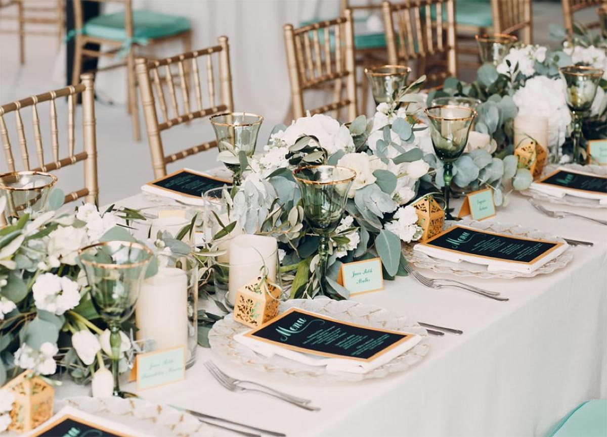 Unique Wedding Color Scheme