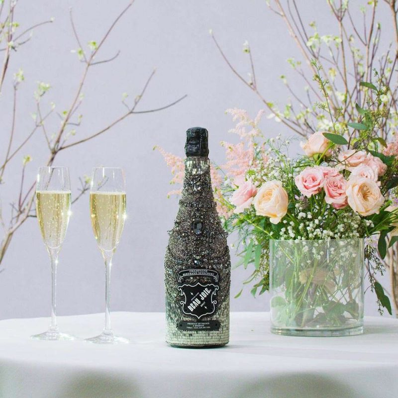 Champagne Beau Joie and Marchesa Introduce Couture Collector's Bottle