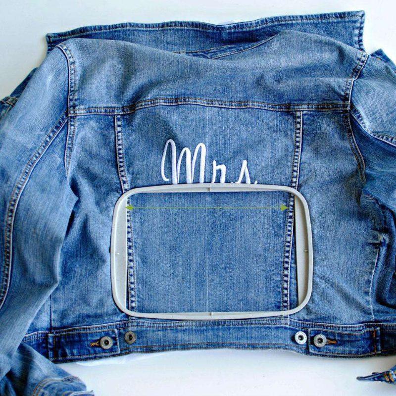 DIY Bridal Jacket - Step 6