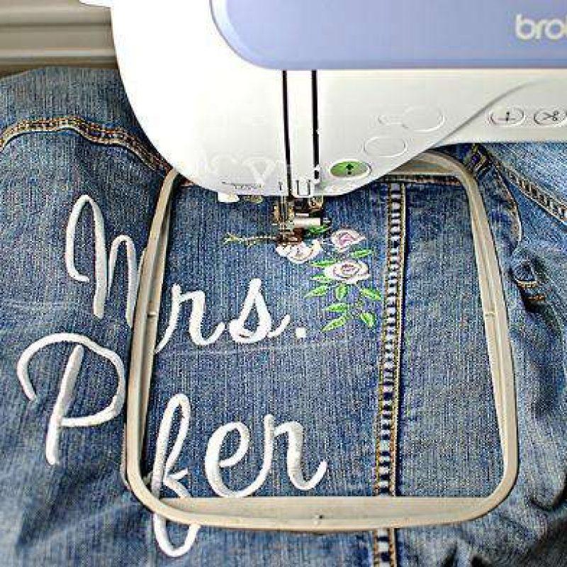 DIY Bridal Jacket - Step 8
